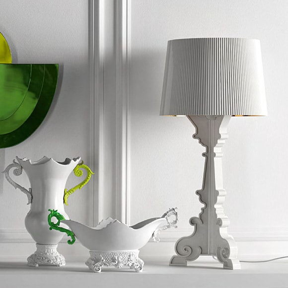 Bourgie Lampe Kupfer Kartell At Royaldesignde