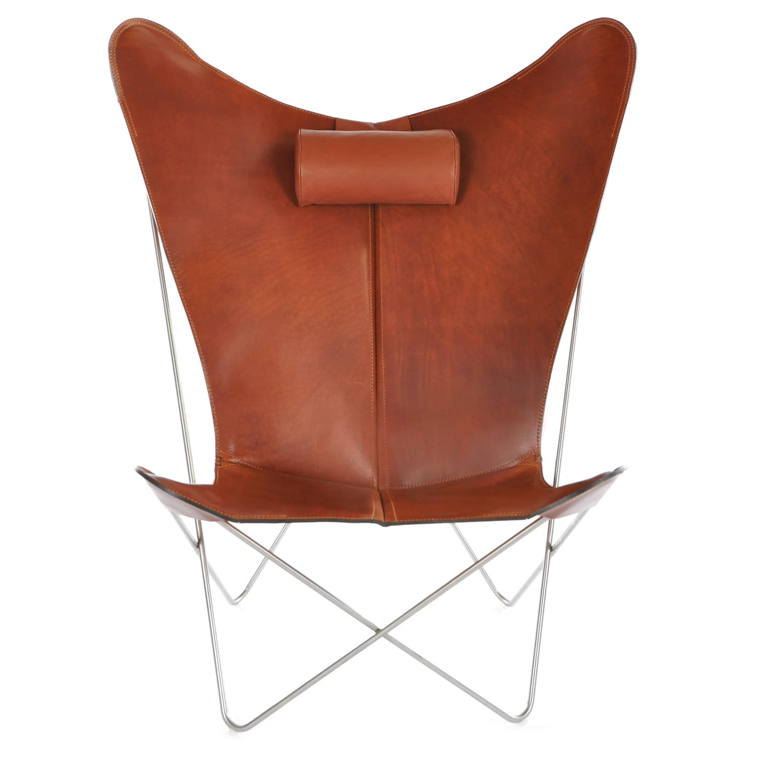 Ks Sessel Cognac Ox Denmarq Royaldesign De