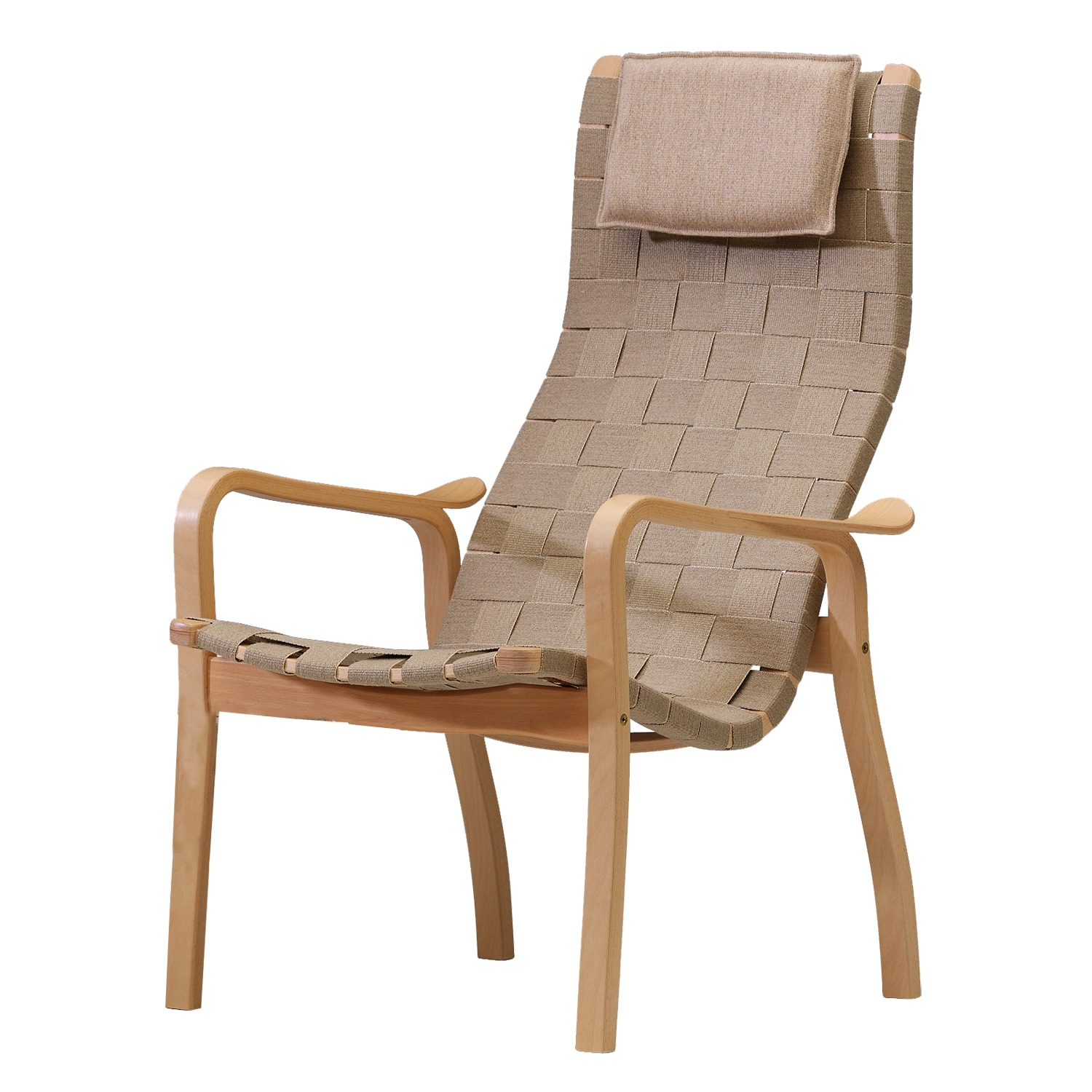 Primo Armchair High Back, Oiled OakNature