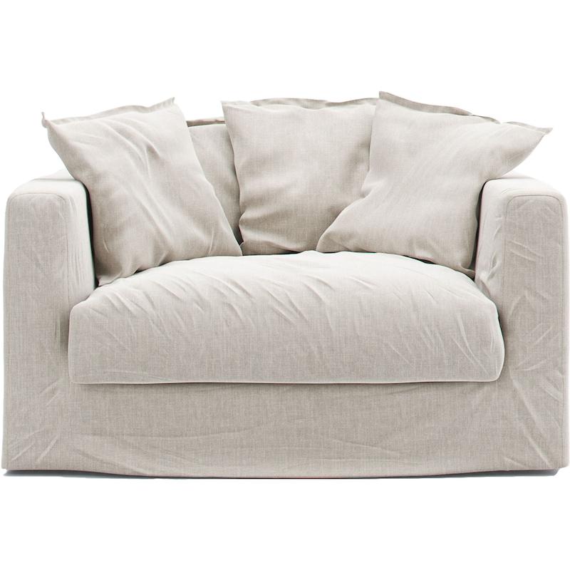 Surprising Le Grand Air Loveseat Baumwolle Decotique Royaldesign De Bralicious Painted Fabric Chair Ideas Braliciousco