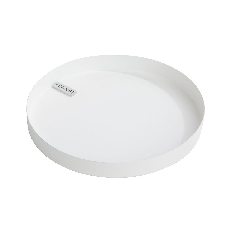 Lichter Tablett ø18cm Weiss