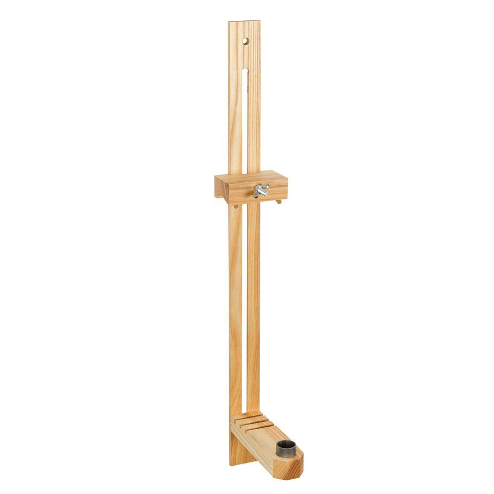 Wandlampe 60cm Geölt Esche