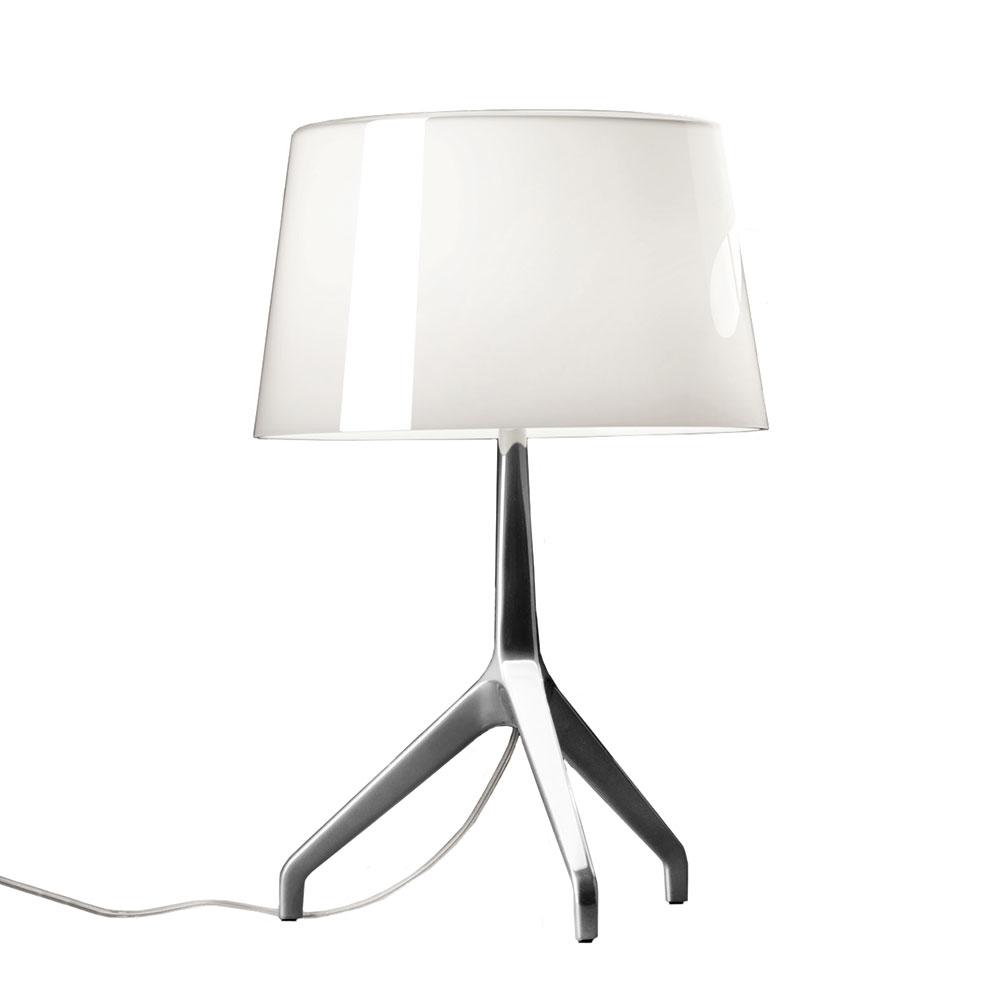 Lumiere Tischleuchte XXS Aluminium/Weiß