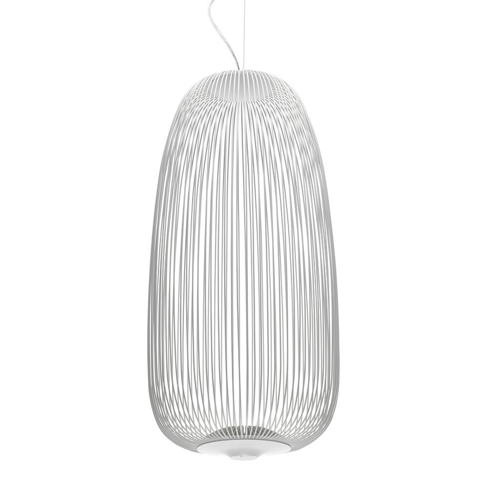 Spokes 1 LED-Deckenleuchte Weiß