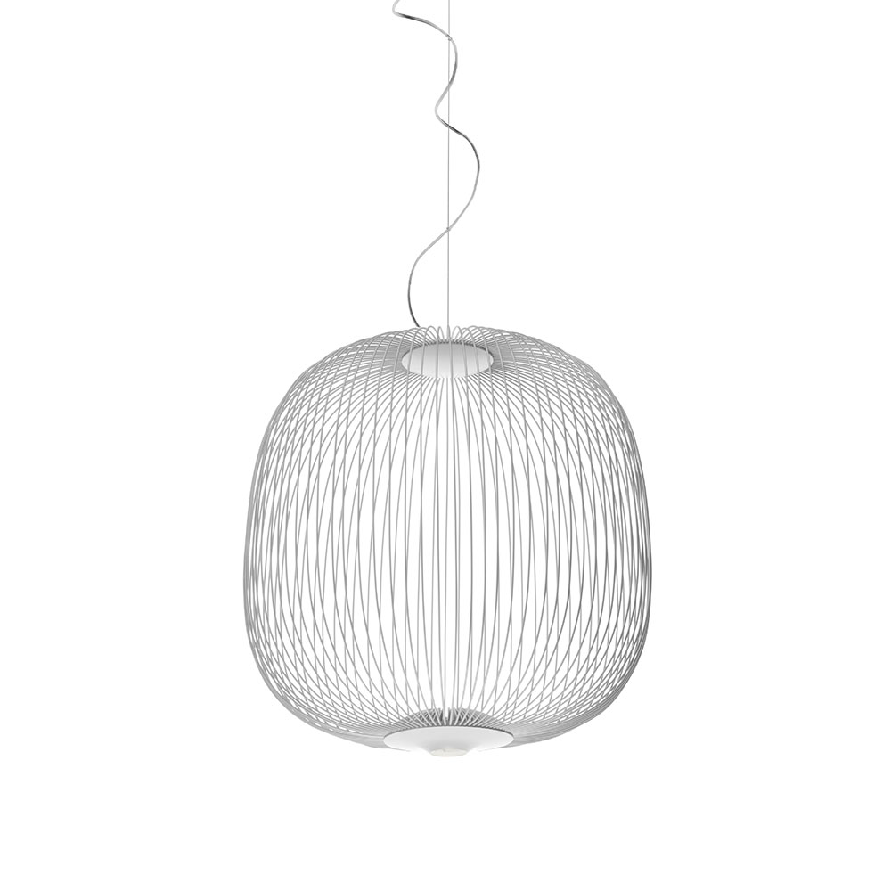 Spokes 2 LED-Deckenleuchten Dimmbar Weiß
