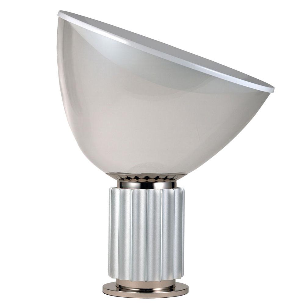 Taccia LED Tischleuchte Aluminium