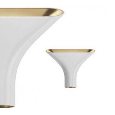 Tau Lampe Weiss/Gold