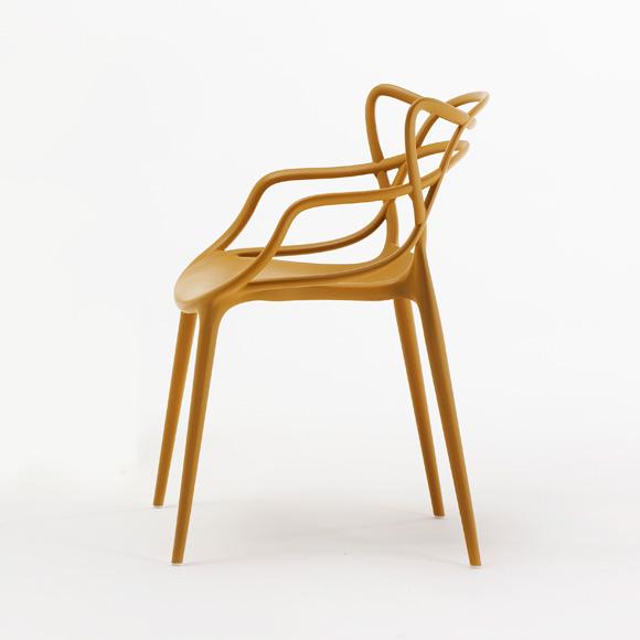 masters stuhl senf philippe starck eugeni quitllet kartell. Black Bedroom Furniture Sets. Home Design Ideas