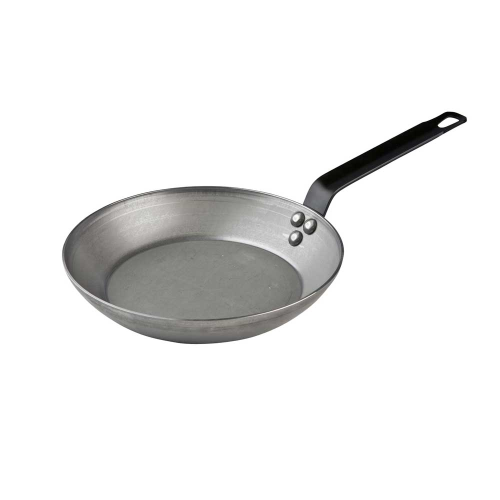 Mauviel Omelettpfanne aus Blech, 320 mm