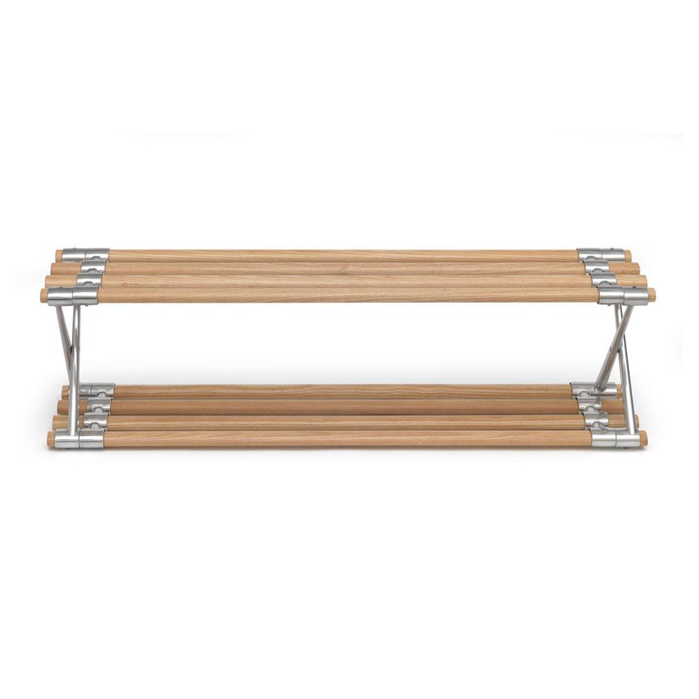 schuhregal aluminium ask bengt ek design. Black Bedroom Furniture Sets. Home Design Ideas