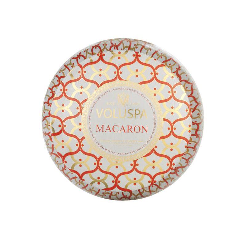 2-Wick Duftkerze Macaron. 50 Std.