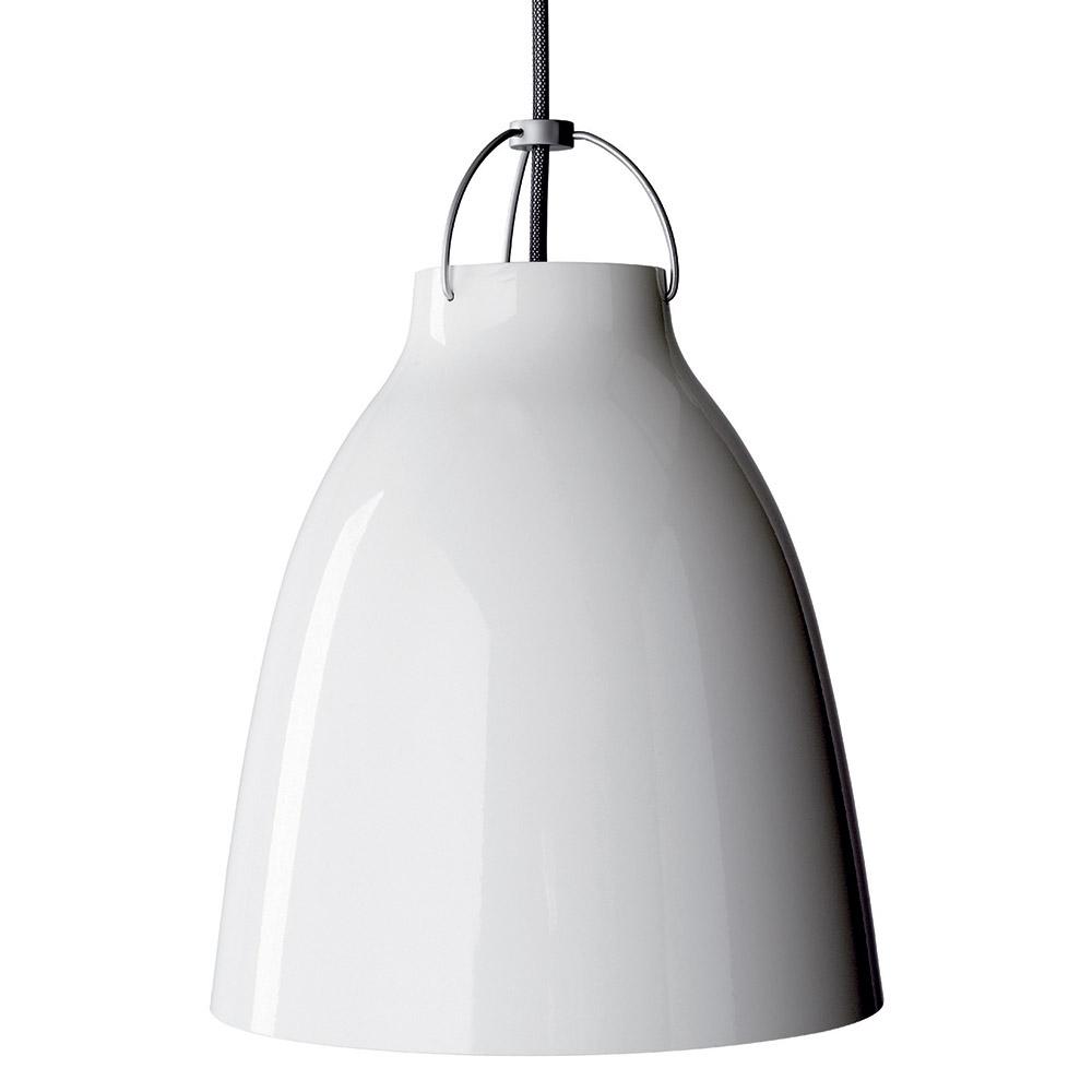 Caravaggio Deckenleuchte P2 6m Kabel Weiß