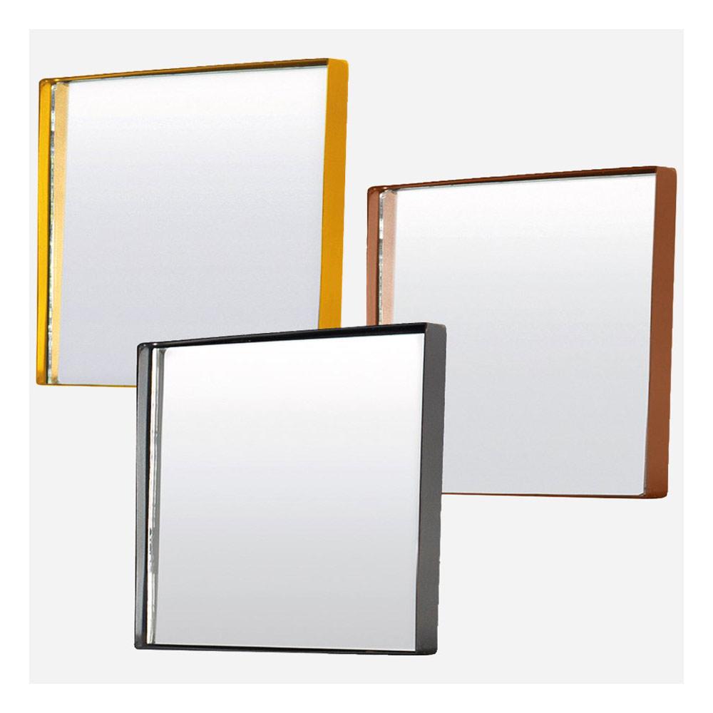 square spiegel 30x30cm messing von house doctor online kaufen hublery. Black Bedroom Furniture Sets. Home Design Ideas