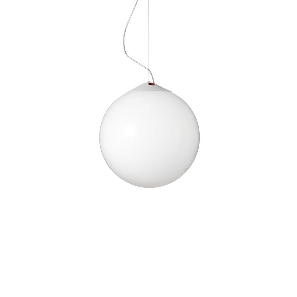 Droplight Deckenleuchte 300 Weiss/Opalglas