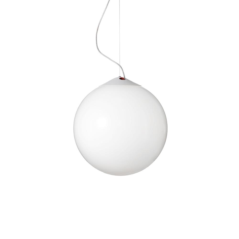 Droplight Deckenleuchte 400 Weiss/Opalglas