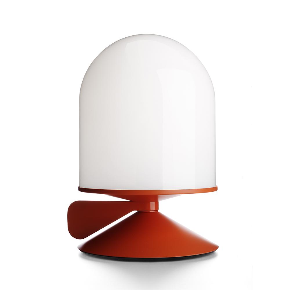 Vinge Tischleuchte mit Dimmer Orange/opalglas