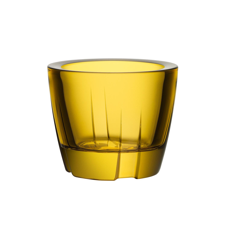 Bruk Teelichthalter Gelb