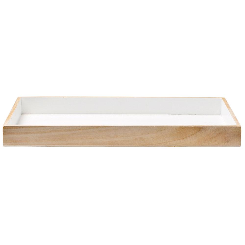 bloomingville tablett 45x25cm weiss bloomingville bloomingville. Black Bedroom Furniture Sets. Home Design Ideas
