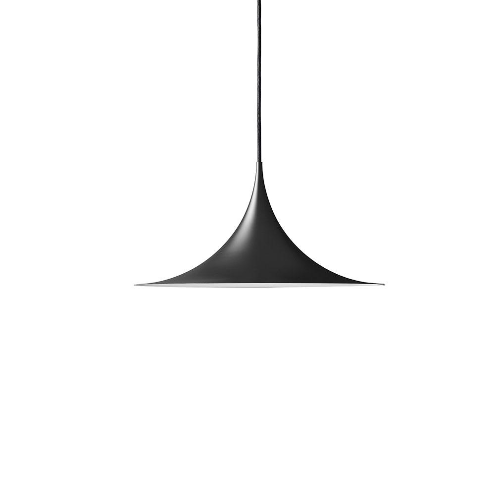 Semi Deckenleuchte ø47cm Schwarz