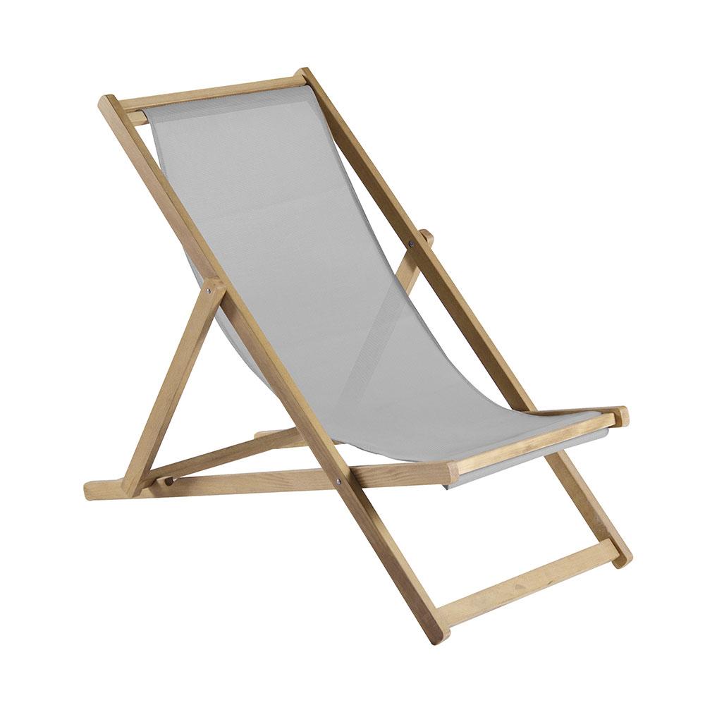 Relax Liegestuhl, Grau - Francesco Favagrossa - Fiam - RoyalDesign.de