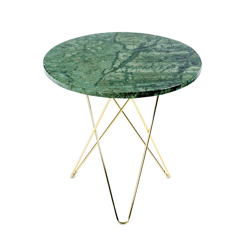 gro er mini o beistelltisch gr ner marmor messing dennis marquart ox denmarq. Black Bedroom Furniture Sets. Home Design Ideas