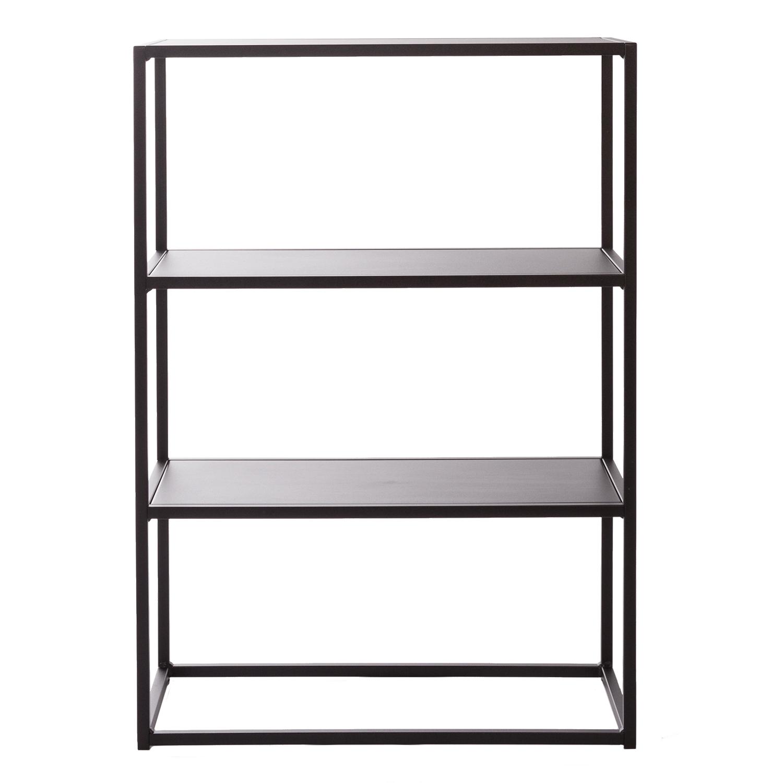regal schwarz metall amazing regal wandregal cdregal stck. Black Bedroom Furniture Sets. Home Design Ideas