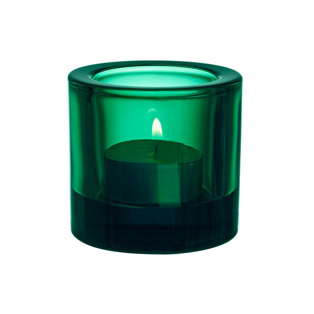Kivi Teelichthalter 6 cm Smaragd