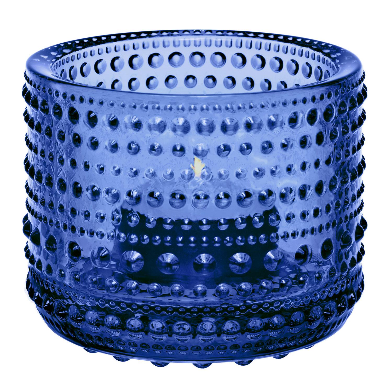 Kastehelmi Teelichthalter 6,4cm Ultramarinblau