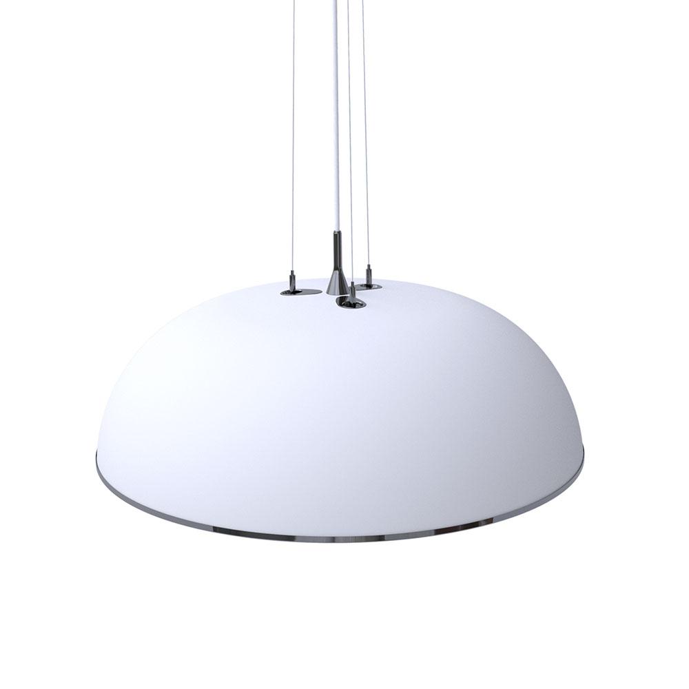 Megalo LED Hängelampe L weiß
