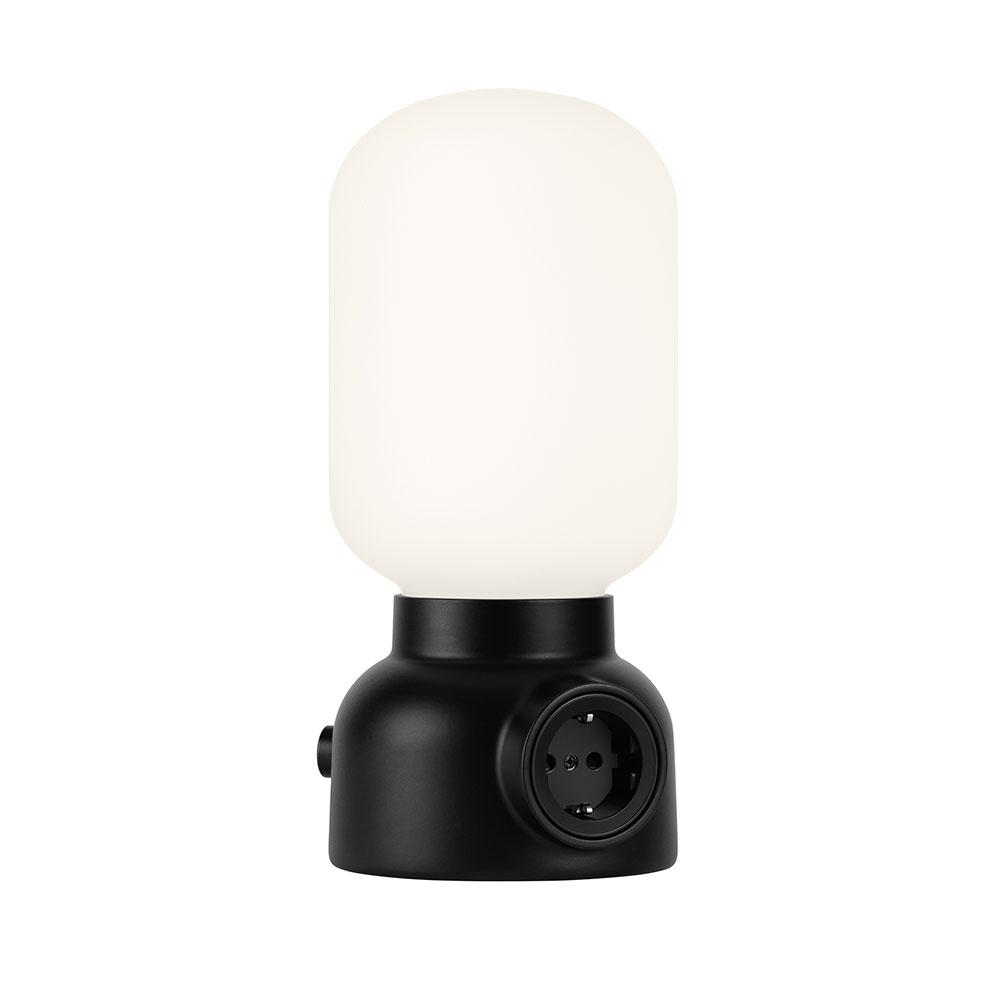 Plug Tischlampe schwarz