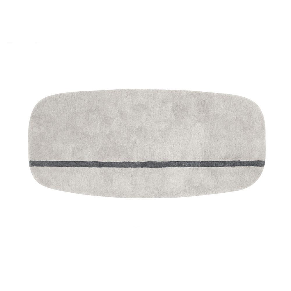 Oona Teppich 200x90cm Grau